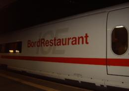 ICE-Halt im Bahnhof Gießen