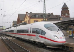 ICE-Halt in Gießen - (c) Dieter Römhild