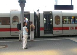 ICE-Halt in Gießen