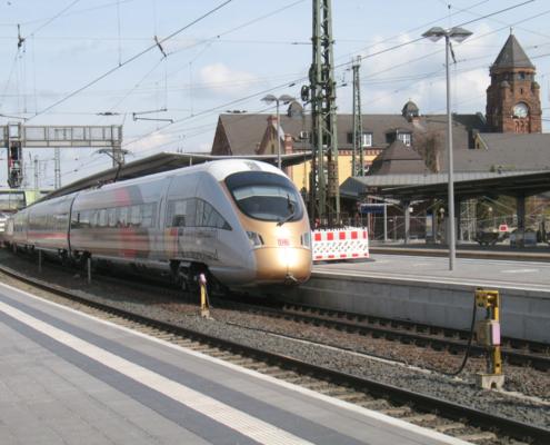 ICE 175 Jahre Eisenbahn, Durchfahrt in Gießen