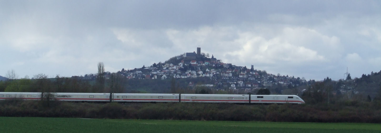 ICE zwischen Gießen und Lollar