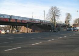 ICE-Durchfahrt in Gießen Oswaldsgarten