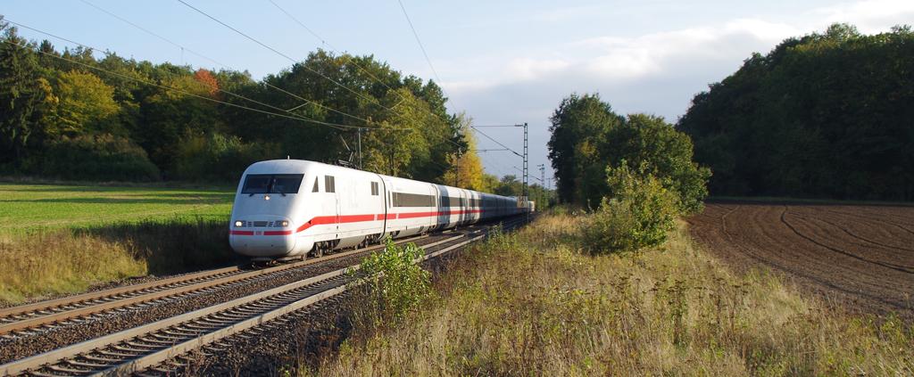 ICE bei Großen Linden / A45