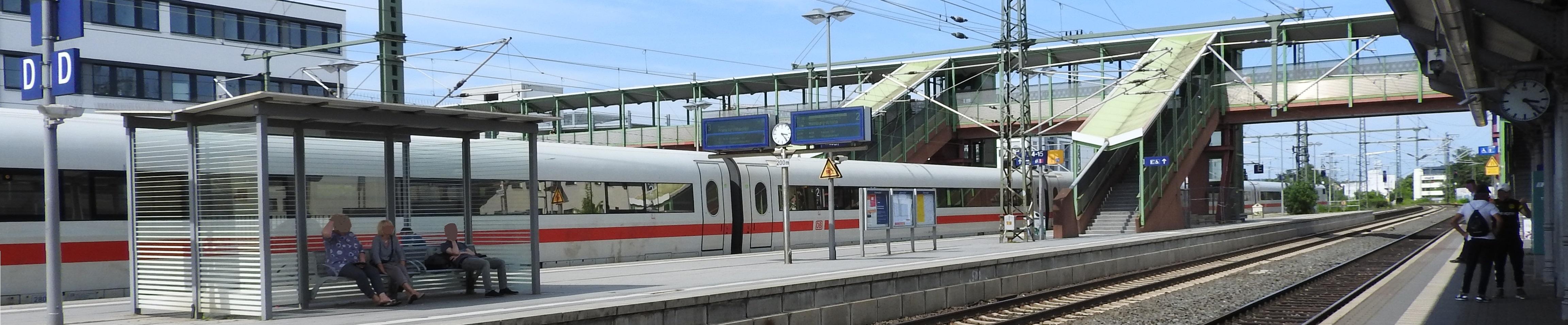 Slider - ICE in Gießen
