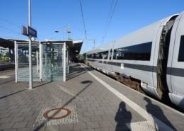 ICE-Durchfahrt in Wetzlar