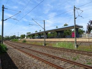 S-Bahn-Bahnhof Steinheim/Main (Frankfurt/M - Hanau Hbf), Juli 2019