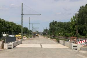 Neue Bahntrasse beo Ginnheim