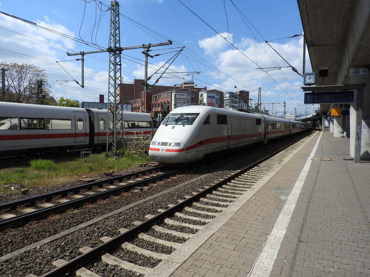 ICE-Halt und Kreuzung in Frankfurt(M)West