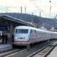 ICE 1075 bei der Einfahrt in Marburg(Lahn)
