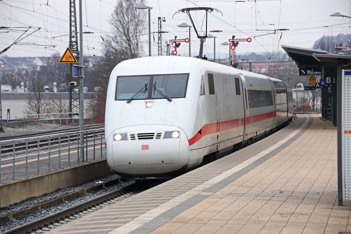 ICE-Durchfahrt in Stadtallendorf